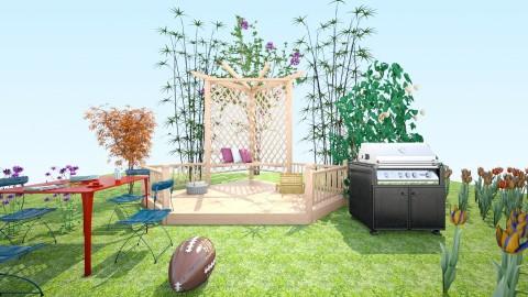 Outdoor Fun - Modern - Garden  - by InteriorDesigner111