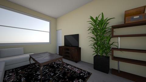 apartment living room - by rcostilla
