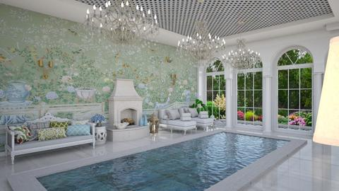 Pool Pavilion 9 - Garden  - by Fofinha