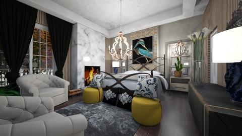 Vintage_Hotel _Suites_Interior - Vintage - Bedroom  - by Nikos Tsokos