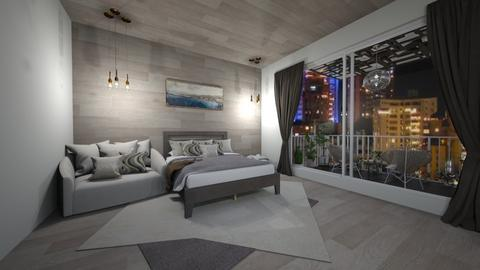 Hotel Room - Bedroom  - by Agamanta