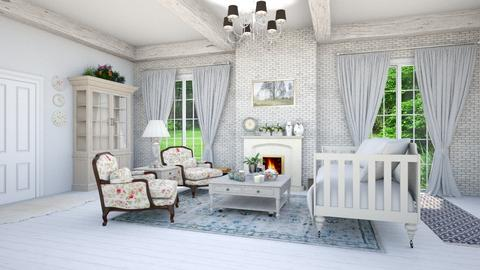 chic - Country - Living room - by abby_o
