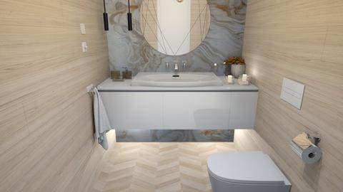 Bathroom  white - Modern - Bathroom  - by szaboi