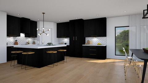 Minnesota - Modern - Kitchen  - by Claudia Correia