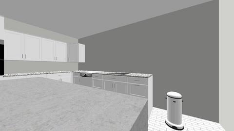 DANI WEDDLE - Kitchen  - by daniweddle