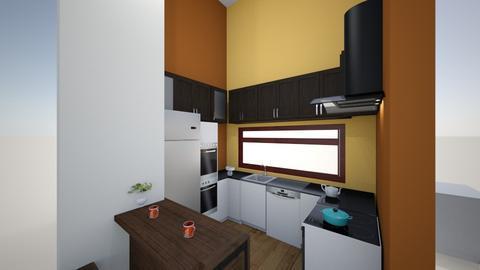 samy ahmed - Modern - Kitchen  - by samy ahmed