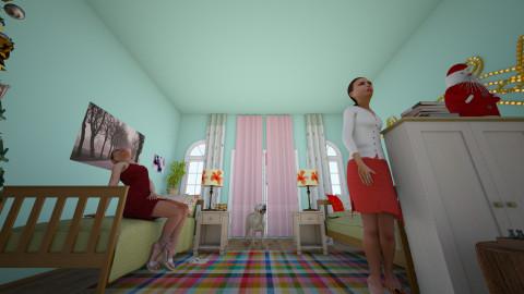 Girls room - Bedroom - by sanja1999