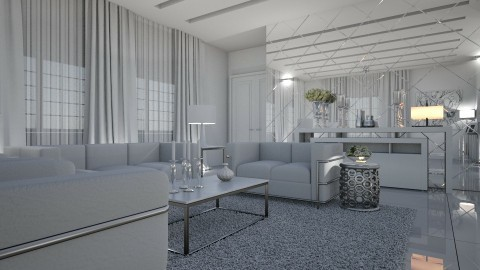 6122017 - Modern - Living room  - by matina1976