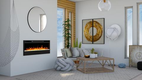 Japandi_Contest_Chayjerad - Living room  - by Chayjerad