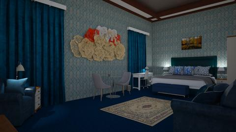 Sapphire Guest BdRm - Modern - Bedroom  - by alonatech_2nd