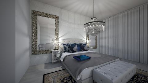 quarto  - Glamour - Bedroom  - by Keilla