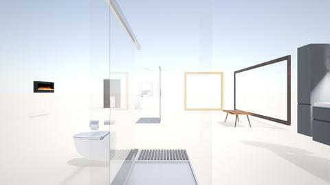 1rst - Minimal - Bathroom  - by virtusist