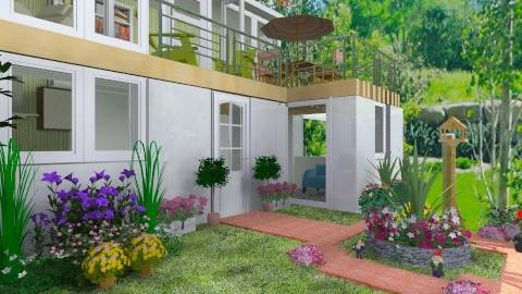 Gnomes Garden - Modern - Garden  - by Bibiche