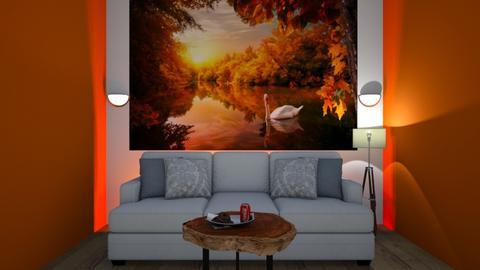 orange  - by RhodriSimpson13