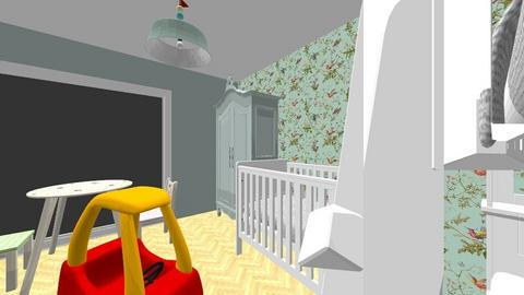 kinderkamer 2 - Kids room - by tinegregoor