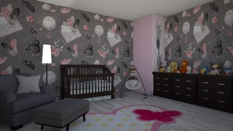 nursery  - Kids room  - by milica tanurdzic
