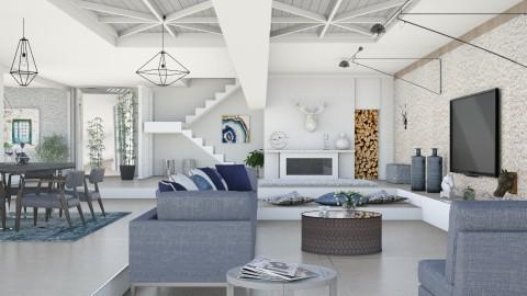 M_Happy - Modern - Living room - by milyca8