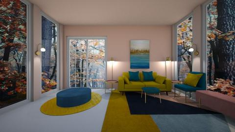 autumn - Living room - by belle alderton