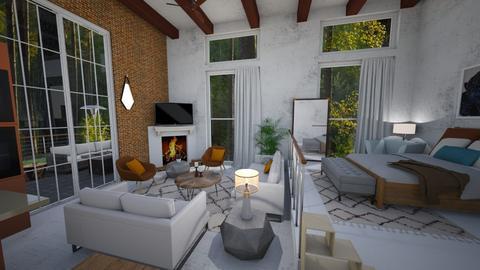 In The Woods - Living room - by jadastratman