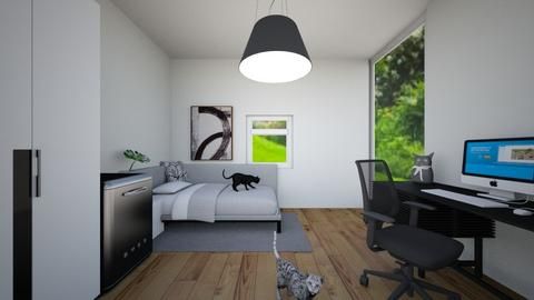 Cat room - Bedroom  - by Mufix