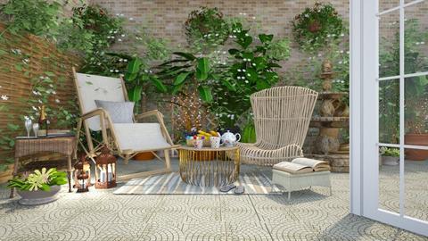 Sun Spring Space - Garden  - by creato