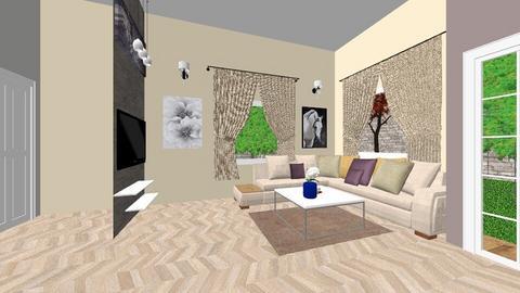 phong khach - Living room  - by Duyxoan