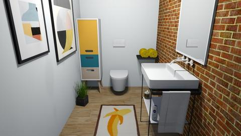 Arty Toilet Room - Bathroom  - by Sadieeeeeeee
