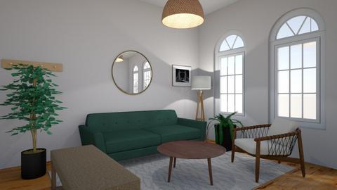 living room test 1 - by Mariana Bahamonde Salazar