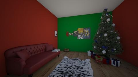 Christmas living room - Living room  - by crying_room