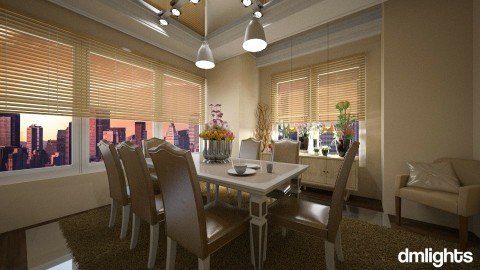 Nicol 1 - Classic - Dining room  - by DMLights-user-1466046