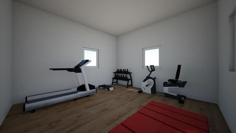 The Cozy Home Gym - by moode4250