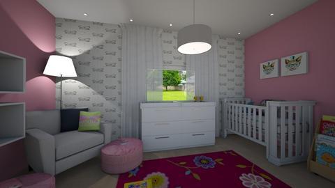 baby girl room - by estamir