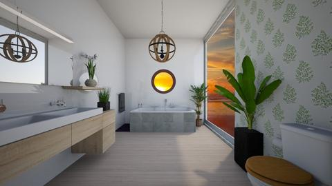 Tropical bathroom - Modern - Bathroom - by MearStyle