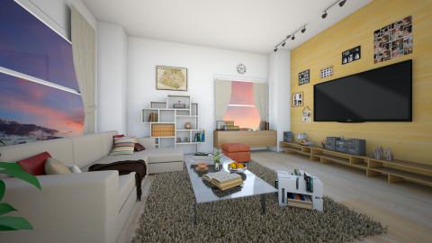 Dawn Living room - Living room - by KurehaKano