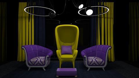 Retro Pop - Retro - Living room  - by XiraFizade