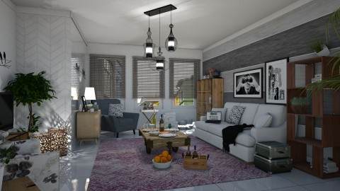 Six objects - Modern - Living room  - by matina1976