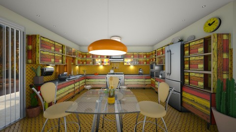 Mandarin - Modern - Kitchen  - by Lackew