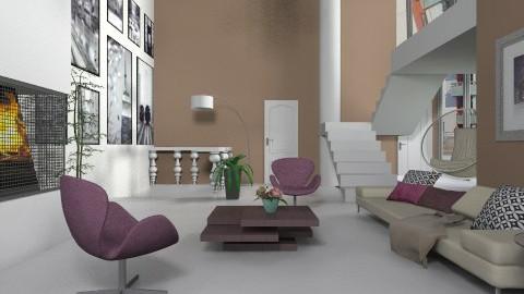 Split Levels - Modern - Living room  - by janip