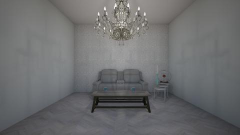 grey room - Living room  - by myaroommaker