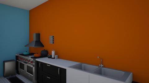 COZINHA 1 - Kitchen  - by Querocafe