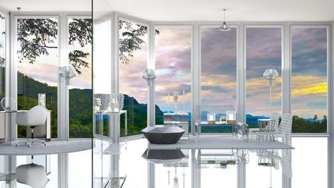 Room of Glass - Living room  - by Feeny