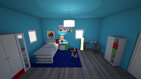 Lil bro bedroom - Bedroom - by Alima5A
