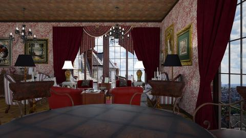 Victorian style - Living room  - by rechnaya