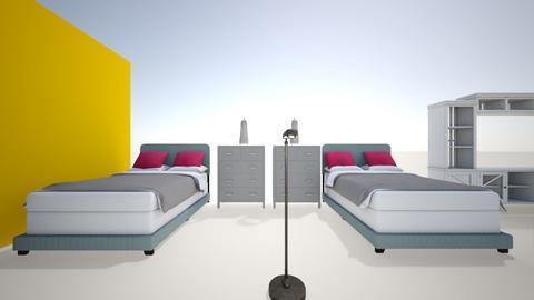 MI CUARTO - Modern - Bedroom  - by DEGRACIAJAISE