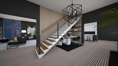 Modern House Entrance  - Modern - by Callmekai22