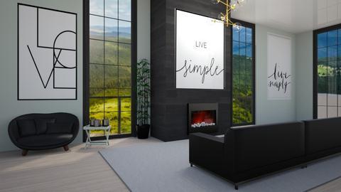 Modern House Pt1 - Modern - Living room  - by deleted_1623825262_Lulu12345678910