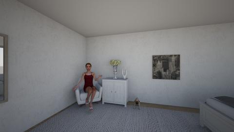 Modern bedroom - Modern - Bedroom - by antanaskoviict