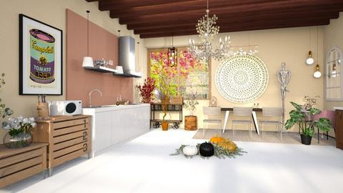 Autumn kitchen - Kitchen  - by nihalruttala