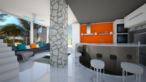 Abstract Kitchen - Modern - by lauracopey