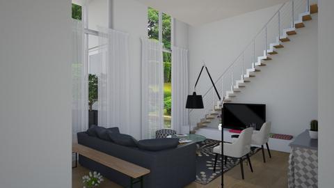 9 piano - Eclectic - Living room - by gloria marietti